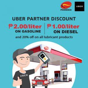 Uber Partner Discount with Phoenix Fuels