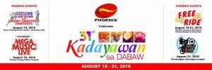 31st Kadayawan sa Dabaw Festival with Phoenix Petroleum