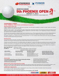 9th Phoenix Open Poster