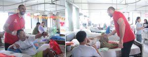 Phoenix Fuel Masters visit injured Marawi soldiers - Doug Kramer