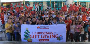 Phoenix Petroleum shares Christmas joy in Mindanao - F. Bangoy Central Elementary School Davao City