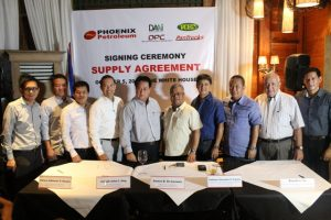 Phoenix Petroleum - ANFLOCOR contract signing