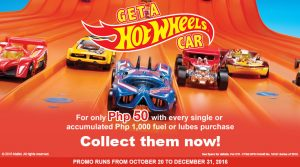 Get a Hot Wheels Car at Phoenix Gas Stations
