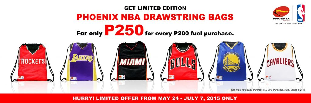 hot sale online 261c1 b444f Gear up with limited edition NBA jersey drawstring bags ...
