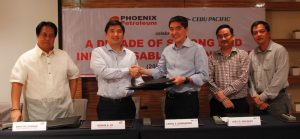 Phoenix Petroleum, Cebu Pacific sign supply contract