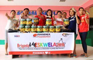Phoenix Petroleum joins Brigada Eskwela 2015