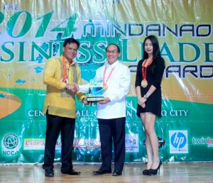 Phoenix Petroleum President named Most Outstanding Mindanao Business Leader