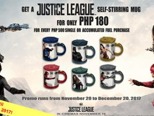 Phoenix Petroleum Justice League self-stiring mugs promo extended