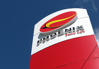 Phoenix Gas Station Tall Signage