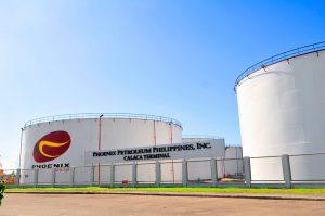 Phoenix Petroleum terminal in Calaca, Batangas