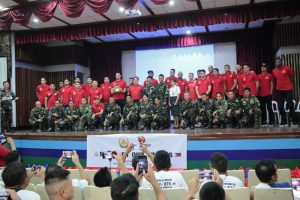 Phoenix Fuel Masters visit injured Marawi soldiers