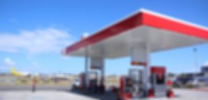Blurred Photo of Phoenix Gas Station