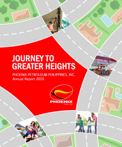 Phoenix Petroleum Annual Reports - Journey to Greater Heights