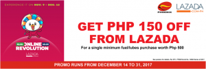 Get php 150 Off from Lazada - Gas up at Phoenix Petroleum