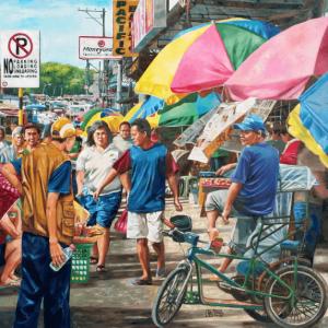 All heart in their art - Mindanaoan Artist - Bong Perez 2017