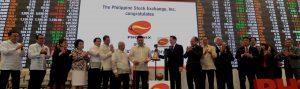 Phoenix Petroleum at Philippine Stock Exchange Inc.
