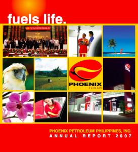 Phoenix Petroleum Annual Reports - Fuels Life