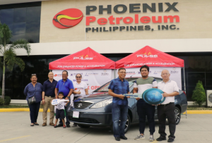 Over 200 golfers hit the greens at the 10th Phoenix Open in Davao