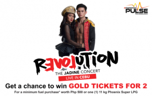 JaDine promo poster Cebu - Get a Chance to Win GOLD TICKETS for 2!