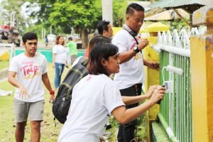 Phoenix helps Youth Gear up for School through Brigada Eskwela - Kalubihon Elem. School, Iligan