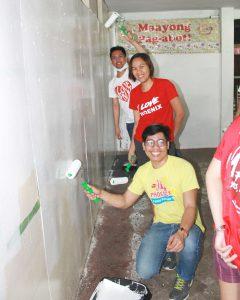 Phoenix helps Youth Gear up for School through Brigada Eskwela - San Roque Elem. School, Davao