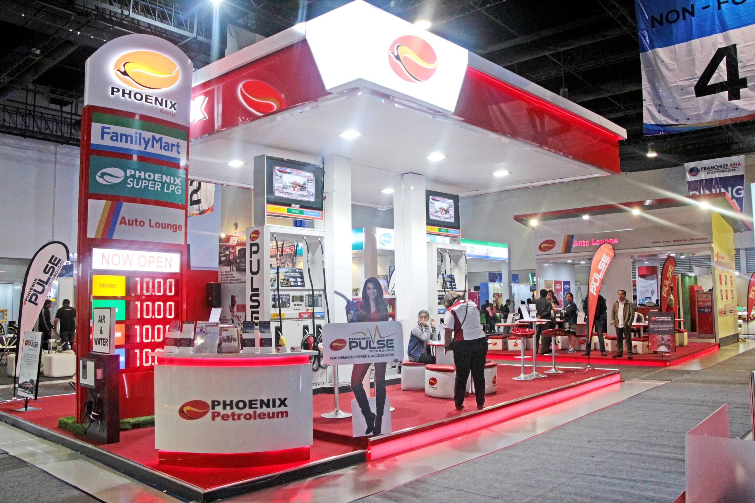 Phoenix Petroleum bags 6th Best Booth Design award at Franchise Asia 2018