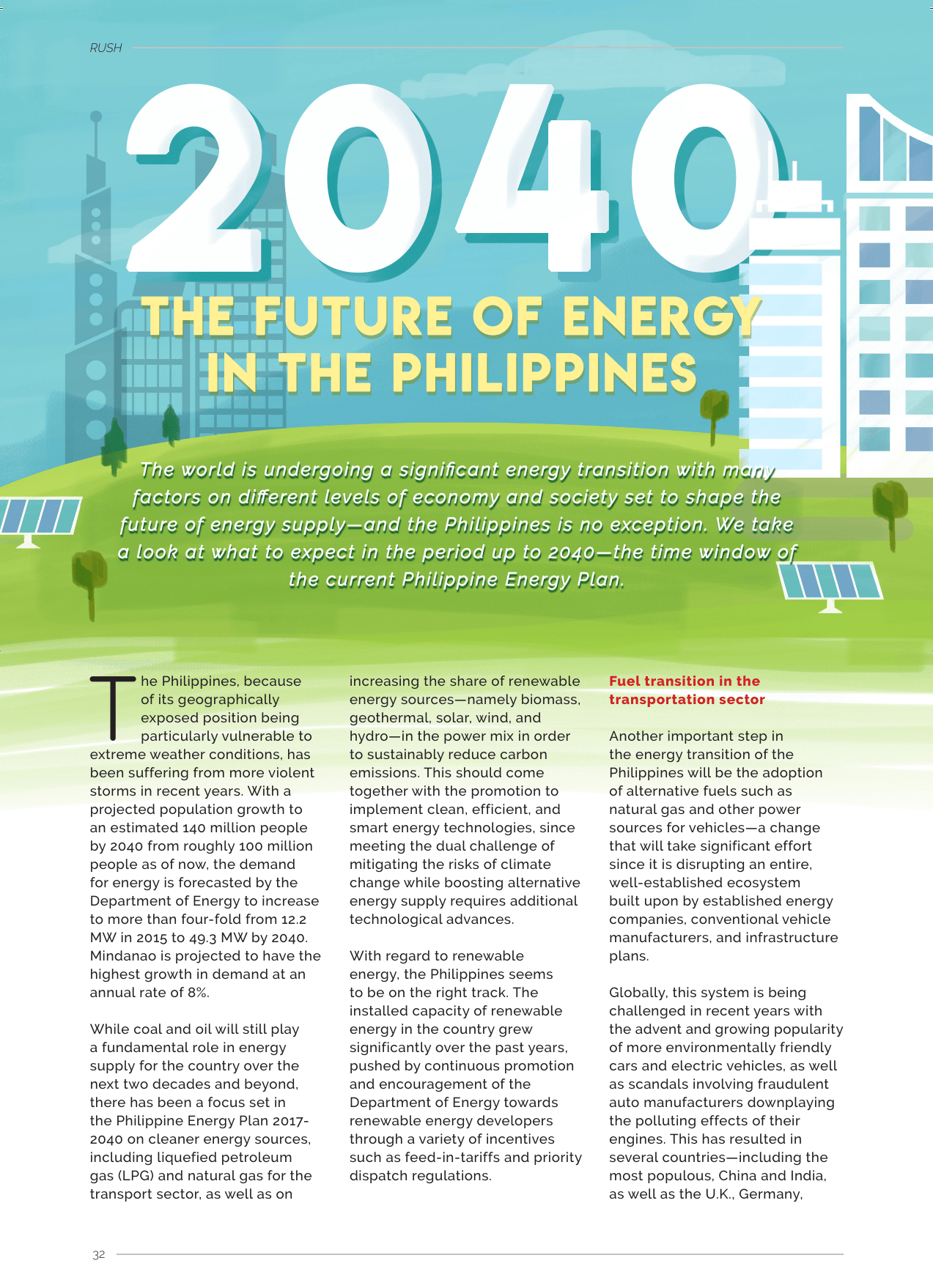 2040: The Future of Energy in the Philippines - Phoenix