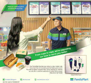 FamilyMart opens new Flagship store at Clark Global City