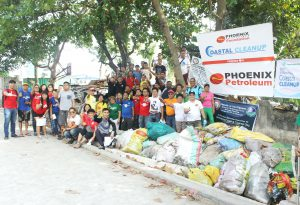 Phoenix Petroleum protects marine life in Davao City