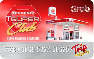 PNX Tsuper Club Card, Fuel Discount to GrabPH