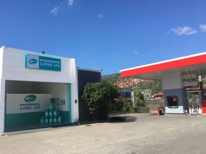 Phoenix Petroleum Opens country's first ever LPG hub in a gas station