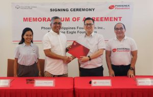 Phoenix Petroleum Renews Support for Philippine Eagle Conservation
