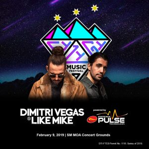 Dimitri Vegas & Like Mike SM MOA - Music Festival