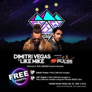 Phoenix Petroleum gives FREE Syzygy Music Festival tickets for fuel transactions