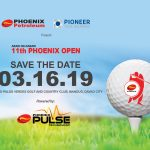 9th Phoenix Open Save The Date Poster - Phoenix Petroleum and Pioneer Insurance