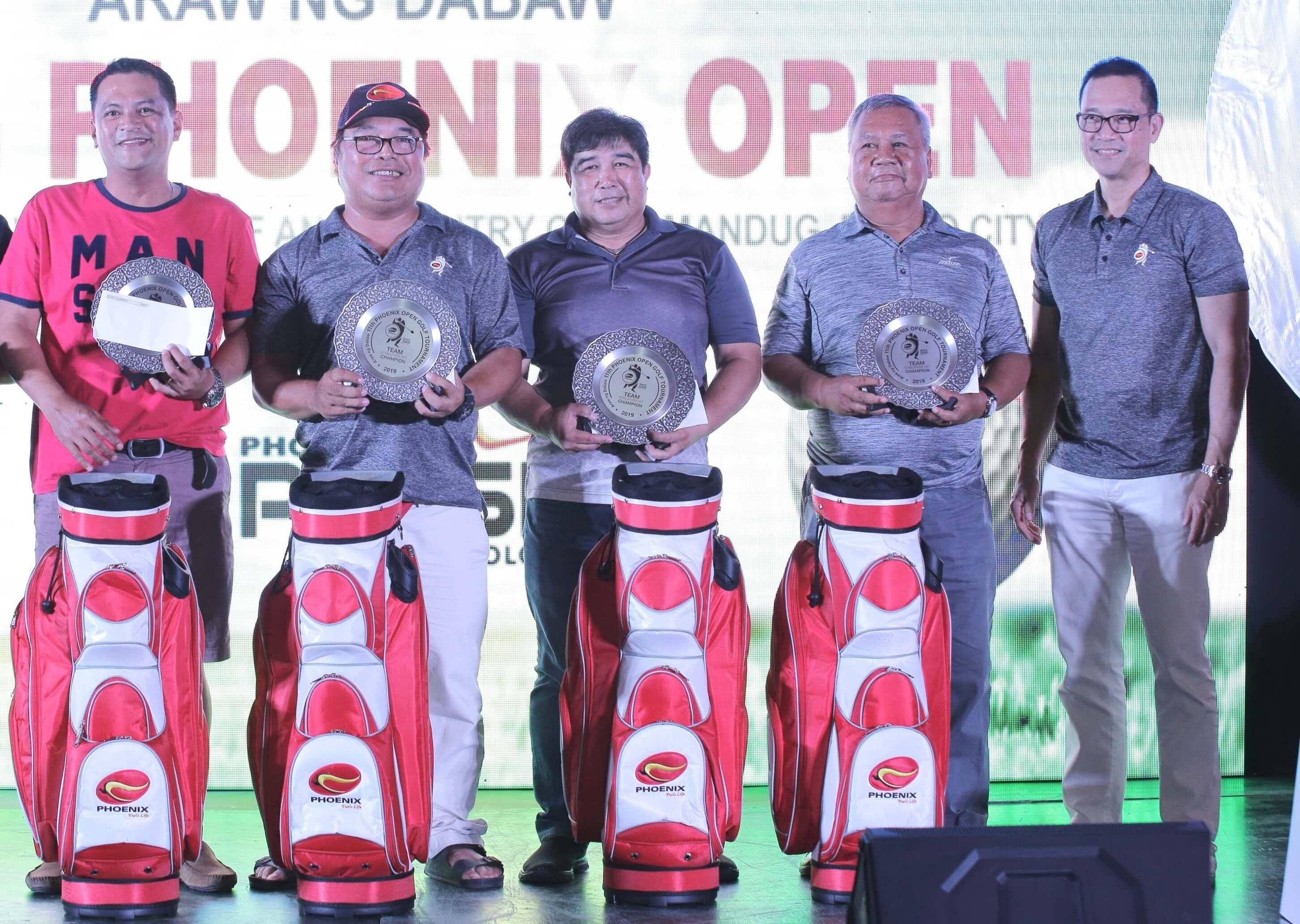 Team Champions of the 11th Phoenix Open