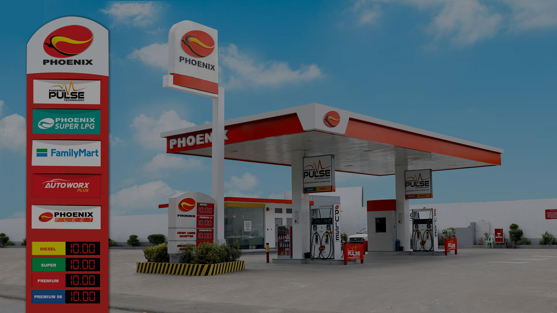 Phoenix Fuels - Leading Independent Oil Company in the Philippines - Gas Station
