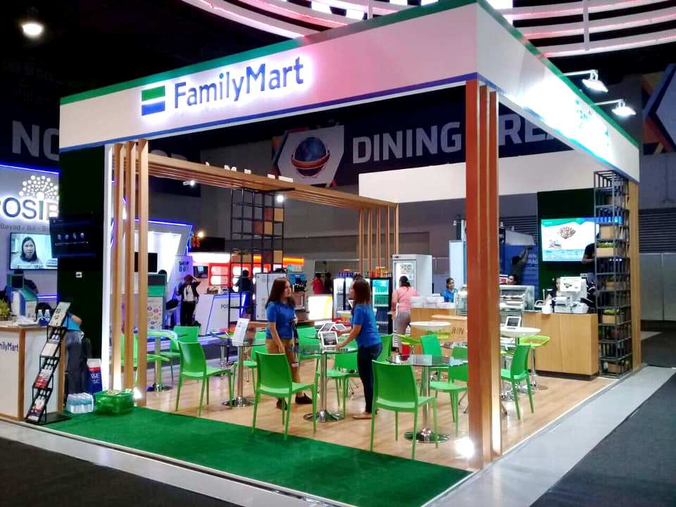 FamilyMart booth at Franchise Asia Philippines 2019