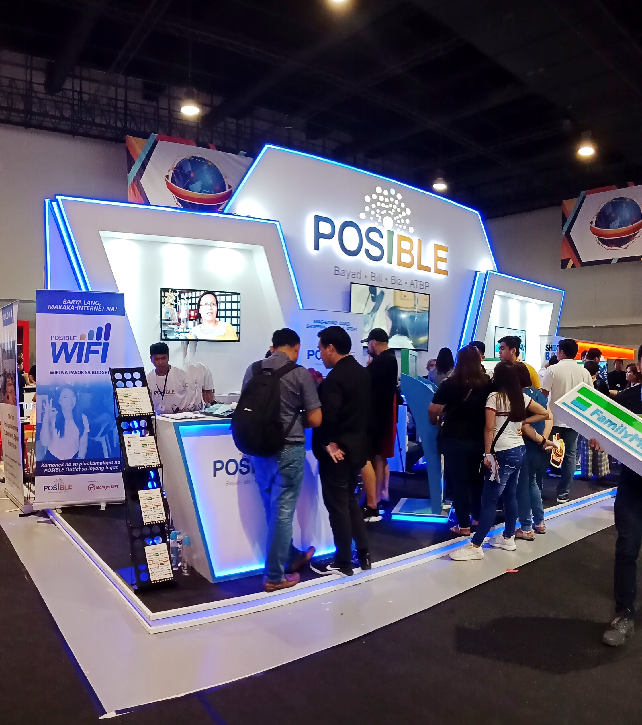 Posible booth at Franchise Asia Philippines 2019