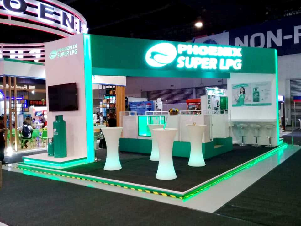 Phoenix SUPER LPG booth at Franchise Asia Philippines 2019