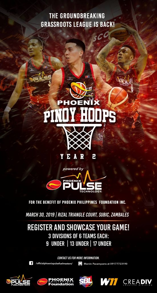 Phoenix Petroleum launches year 2 of Pinoy Hoops camp