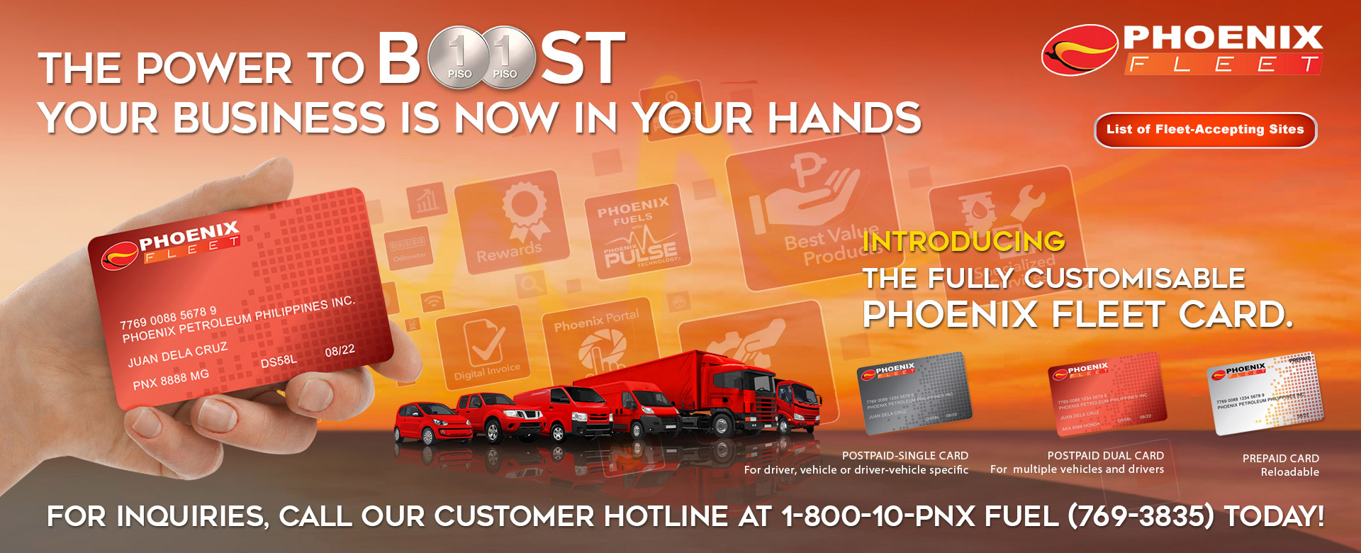 The Power to Boost Your Business - Phoenix Fleet Card
