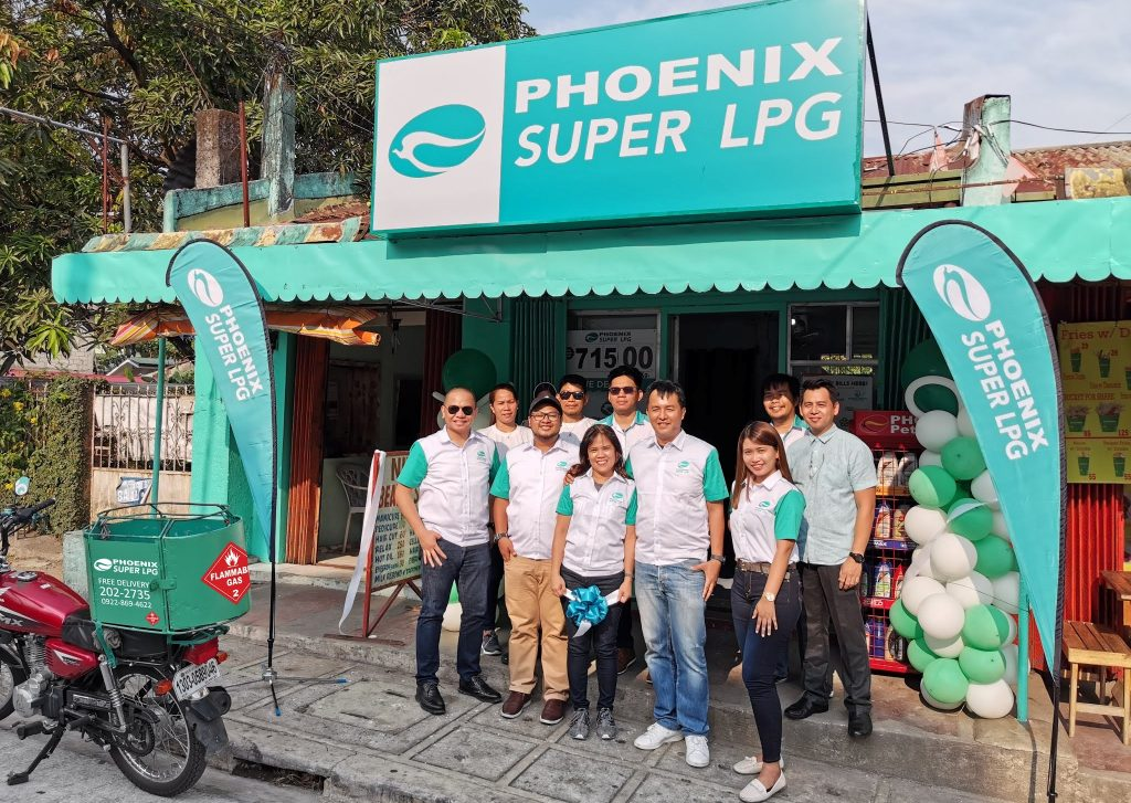 5-16 First Phoenix SUPER LPG franchise store opens in Antipolo