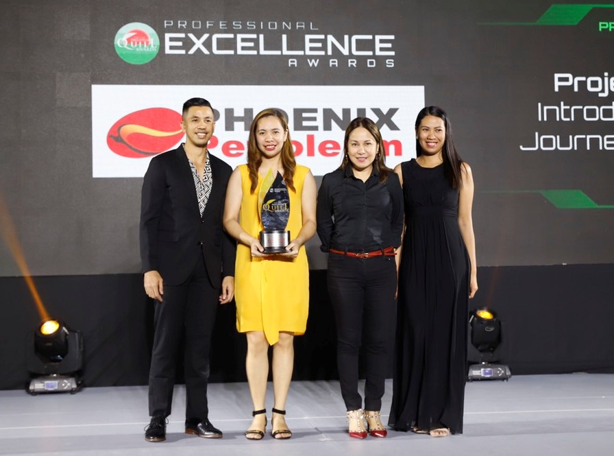 Phoenix Petroleum bags second Award of Excellence from Philippine Quill Awards