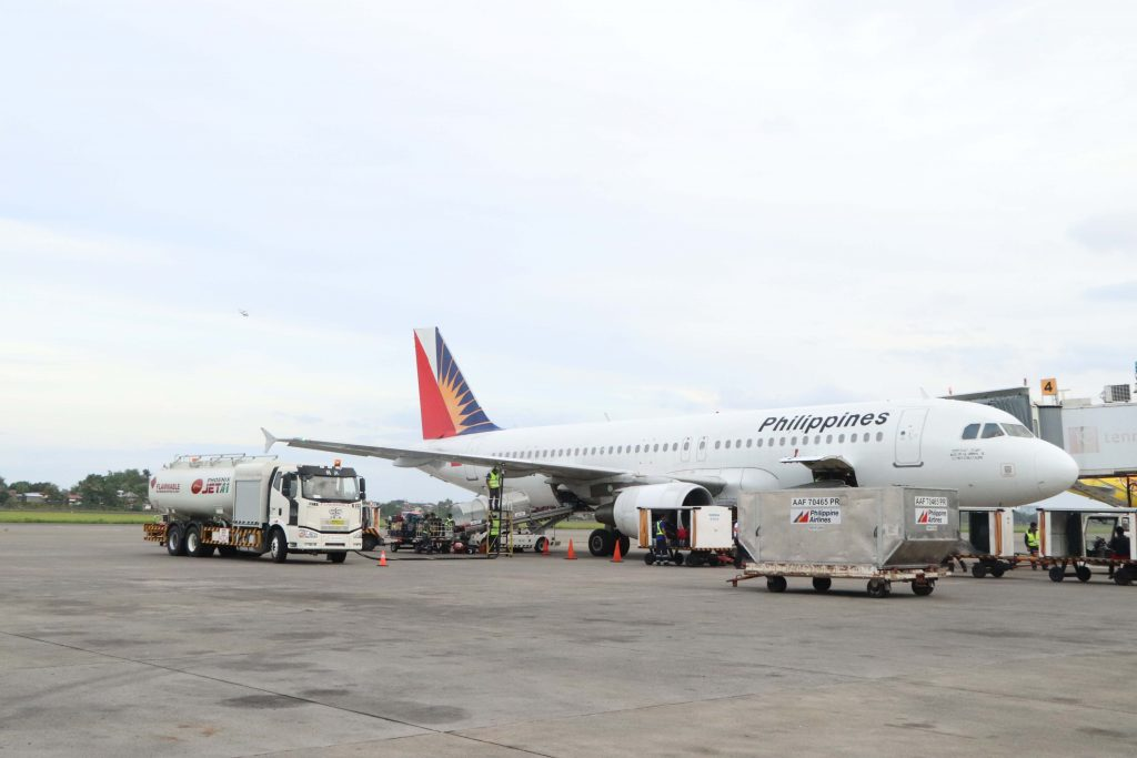 Phoenix Petroleum fuels PAL in Davao