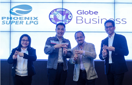 Phoenix, Globe Business, provide free mobile calls to #78737 LPG delivery service