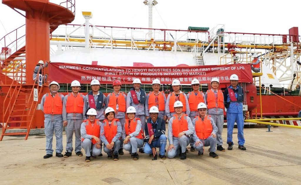 PNX Petroleum Singapore's LPG offtake investment in Brunei yields first shipment