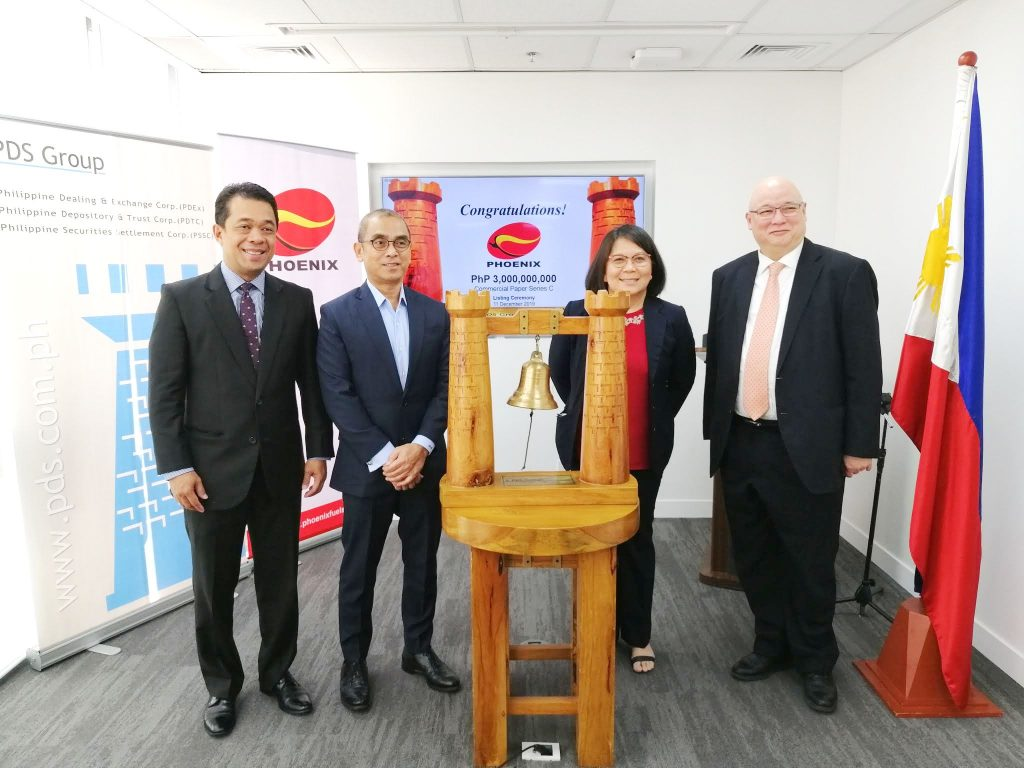 Phoenix Petroleum lists Php3B commercial papers