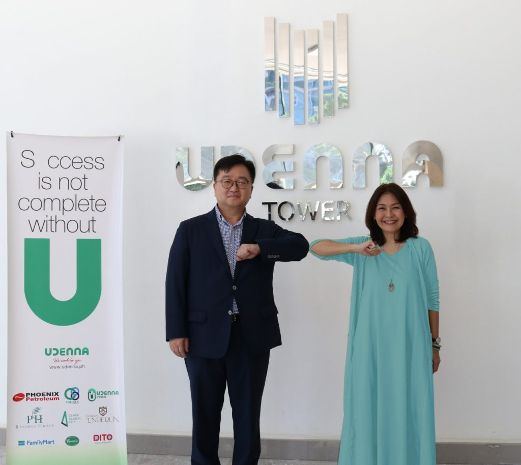 Udenna Foundation and South Korea's MyongJi Hospital join hands with DOH to combat COVID-19