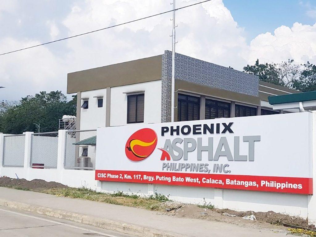 7-1 Phoenix starts operation of asphalt facility (2)